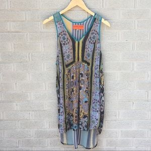 Clover Canyon Sheer Print Tank Top